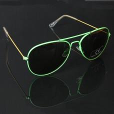 Pilotenbril groen
